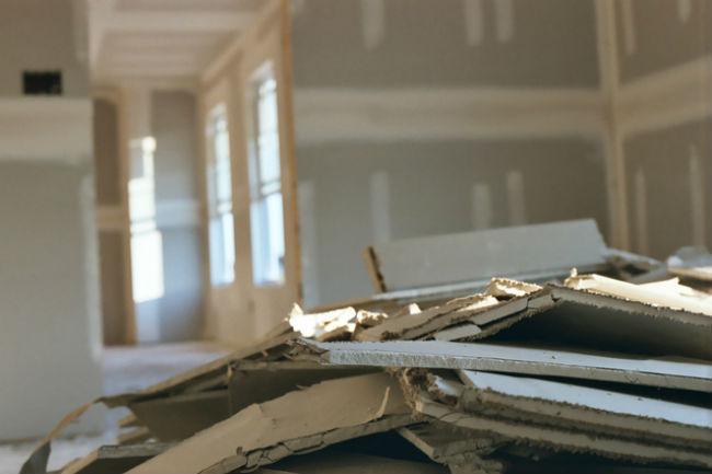 Subterranean termites eat drywall paperboards