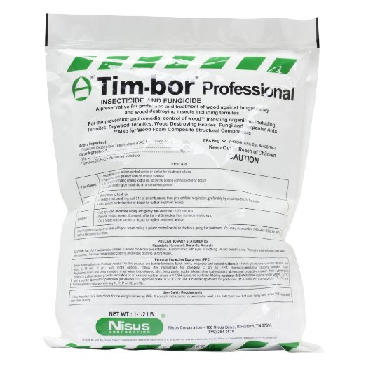 Timbor Nisus Borate Wood Treatment