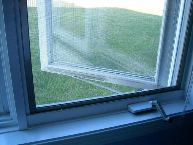 window screen to prevent Zikka virus mosquito bites