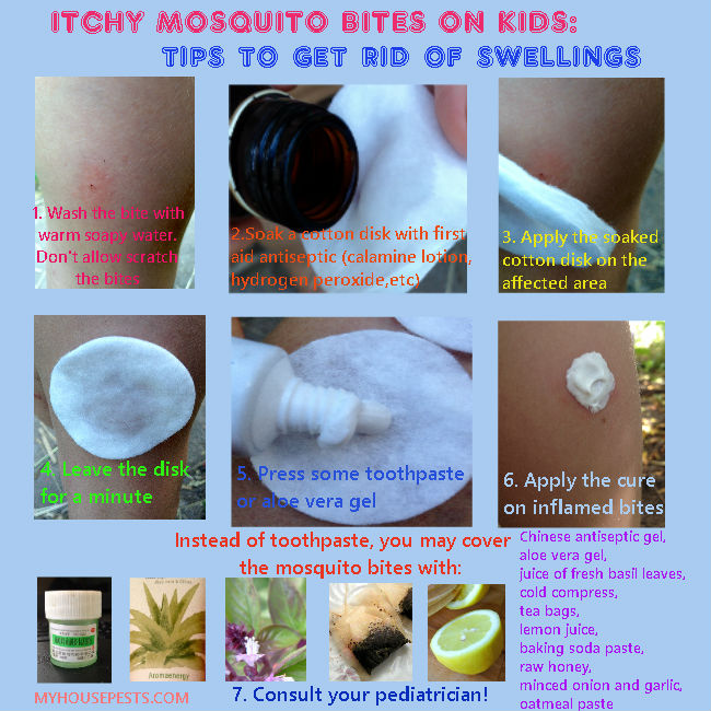 Mosquito Bites On Kids First Aid Treatment
