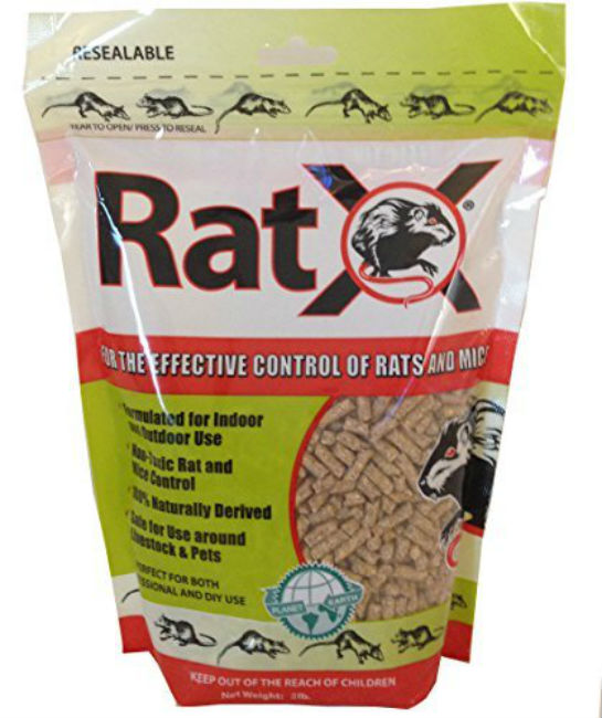 RatX is a natural rat poison