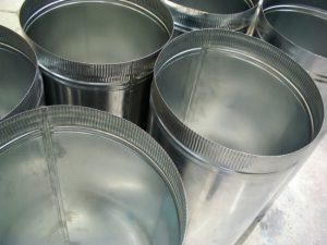 Metal buckets for homemade rat trap